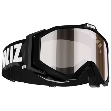 BLIZ EDGE Jr. (BLACK) - Silver Mirror
