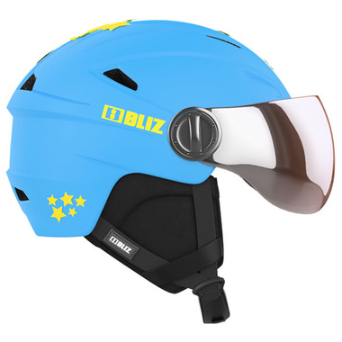 BLIZ JET Jr. Visor (Blue)