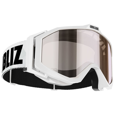 BLIZ EDGE Jr. (WHITE) - Silver Mirror